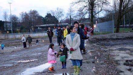 1ste Paal Groene Mient 15 Januari 2015 Fakkels Cornelie Quist 5