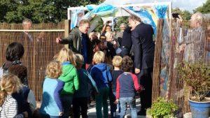 2017.09.20 Opening Groene Mient poort met kinderen